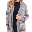 Study Hall Patterned Boyfriend Cardigan