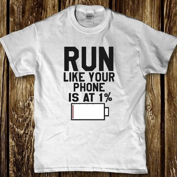 Funny Exercise workout t-shirt for unisex