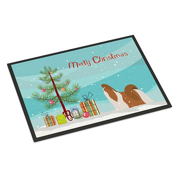 Shih Tzu Merry Christmas Tree Indoor or Outdoor Mat 24x36 BB2964JMAT