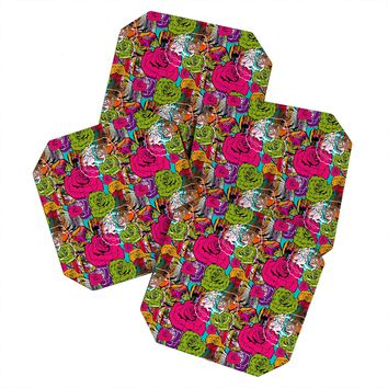 Aimee St Hill Bright Roses Coaster Set