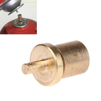 Freeship Gas Refill Adapter for Outdoor Camping Stove Gas Cylinder Adapter Tank Gas Accessories Hiking Inflate Butane Canister