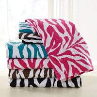 Funky Zebra Organic Sheet Set