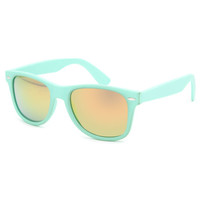 Blue Crown Rubber Classic Sunglasses Mint One Size For Men 23907552301