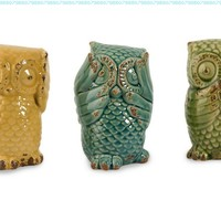 IMAX Wise Owls, Set of 3:Amazon:Home & Kitchen