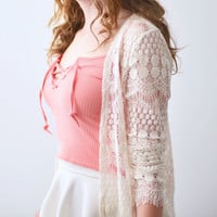 Grace Lace Cardigan