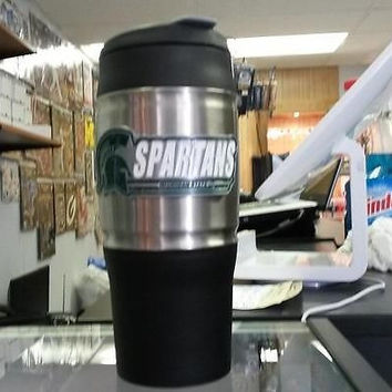 NCAA Michigan State Spartans 18 oz Heavy Duty Travel Tumbler - Logo