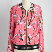 Greatest Blossom Divisor Jacket in Pink
