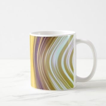 Sea Shell Yellow Moon Driving Dreams Mug