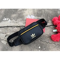 ADIDAS tide brand female models wild fashion pockets chest bag shoulder bag