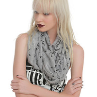 Music Clef Heart Notes Infinity Scarf