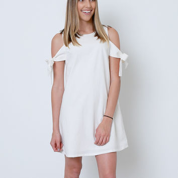 No Secret Shift Dress - Ivory