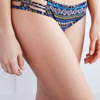 LA Hearts Macrame Side Skimpy Bikini Bottom - Womens Swimwear - Tribal