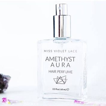 Miss Violet Lace Amethyst Aura Hair Perfume