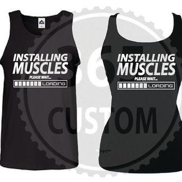 Installing Muscles Tank Top ( EA 15.99 )
