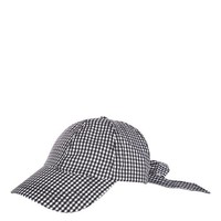 Gingham Bow Back Cap