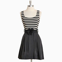 adelle striped pleated dress - $42.99 : ShopRuche.com, Vintage Inspired Clothing, Affordable Clothes, Eco friendly Fashion
