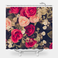 Vintage Bouquet Shower Curtain