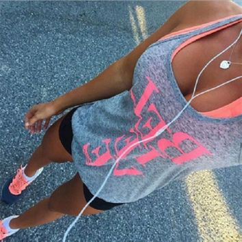 letter print t shirt shorts two piece