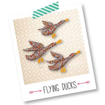 Hand-Sewn Flying Ducks Kit