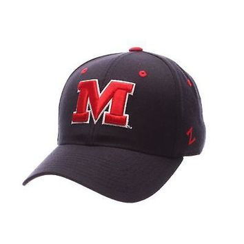 Licensed Mississippi Rebels Official NCAA DH Size 7 1/2 Fitted Hat Cap by Zephyr 541852 KO_19_1