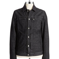 Calvin Klein Jeans Wool Collar Trucker Jacket