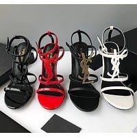 Saint Laurent YSL Cassandra Sandals