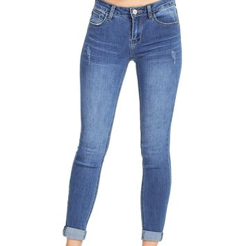 Retrograde Skinny Ankle Jeans