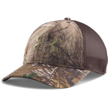 Under Armour Men's UA Camo Mesh Back Cap