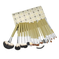 Professional Animal Animal Wool Luxury Fashion 24-pcs 4-pcs Make-up Brush = 4831017540