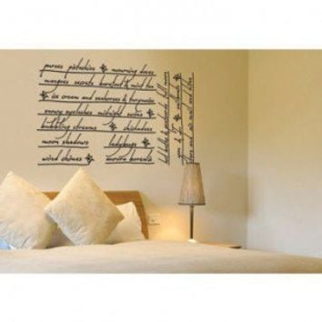 ADZif Blabla Whispers Wall Decal - T3101 - All Wall Art - Wall Art & Coverings - Decor