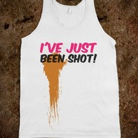 I'VE JUST BEEN SHOT! TANK