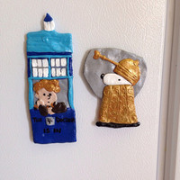 Dr Who Peanuts magnets