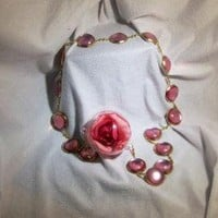 Sailor Jupiter Jeweled Waist Chain by southernmooncreation on Etsy