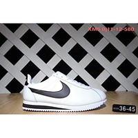 NIKE Classic Cortez Forrest sports running shoes F-SSRS-CJZX White - black hook