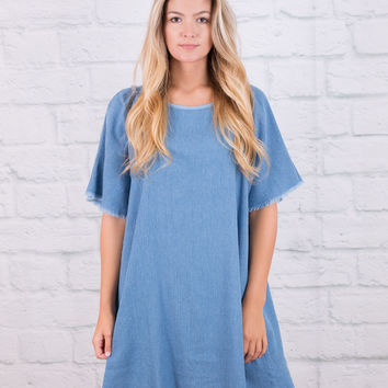 Denim Darling Dress