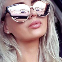 Slay - Rose Gold Sunglasses