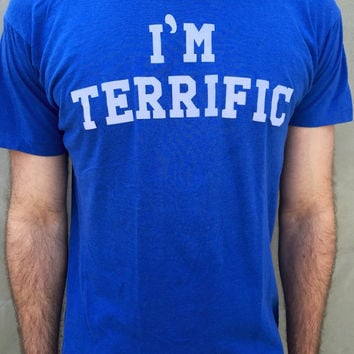 "Vintage ""I'm Terrific Screen"" Stars T Shirt"