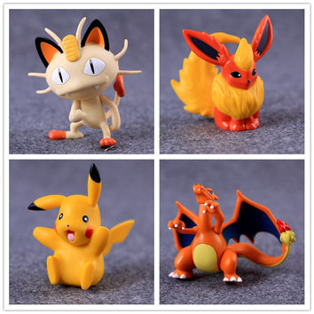 20Styles Figure Pikachu Meowth Go Anime Action Figure Toys Collection Dolls