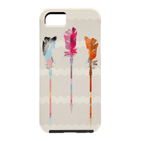 Iveta Abolina Feathered Arrows Cell Phone Case