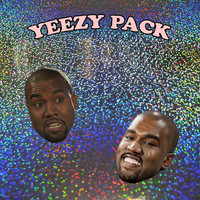 yeezy sticker pack