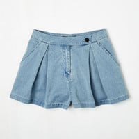 ModCloth 90s Short Length Travel by Tandem Shorts