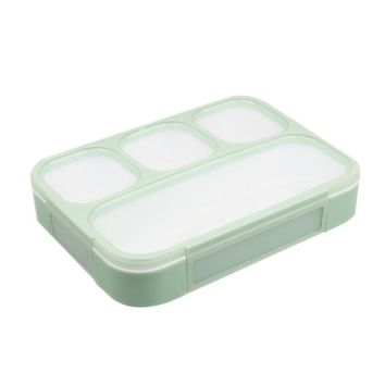 3 plus 1 Sealed Lunch Boxs Containers With Compartment Japanese Lunch Boxs For Kid School Lunch Boxes