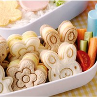 CUTE SANDWICH CUTTER, 3 designs.Bread/Food Cutter/mold/mould for Bento lunch box