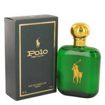 Polo by Ralph Lauren Eau De Toilette / Cologne Spray 4 oz for Men
