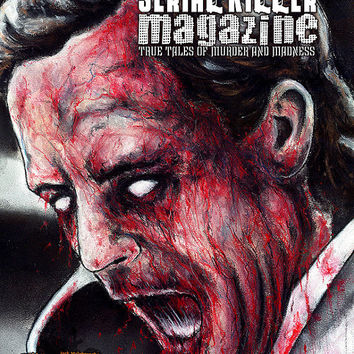 Serial Killer Magazine Issue 6 - Ted Bundy Cover