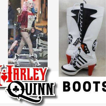 NEW Suicide Squad Harley Quinn Boots