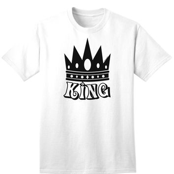 King Adult T-Shirt