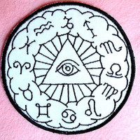 Eye of the Zodiac Iron on Patch