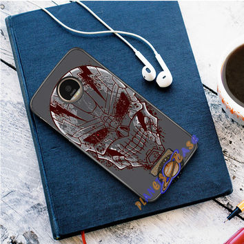 Tenth Doctor With Gallifreyan Motorola Moto Z case Planetscase.com