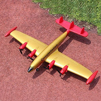 Constellation 9001 2CH EPP Remote Control RC Glider Model Airplane Yellow & Red